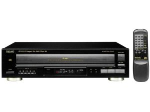 Multi Cd Player Para 5 Cds Teac Pd-d2610 Com Garantia