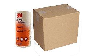 Caixa C/ 120 Fitas Adesivas Para Embalagens 3m Transparente