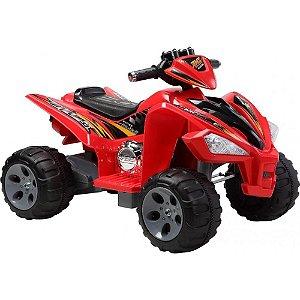 Quadriciclo Elétrico Infantil Vermelho 12v (915900)