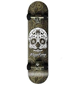 Skateboard Mega Ramp 31 Pro Bel Fix 4030 Caveira Preto e Branco
