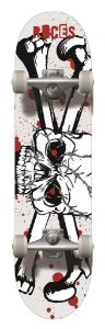 Skate Completo Profissional Roces Abec3 95a - Skull 200