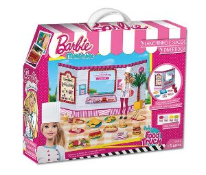 Massinha Barbie Food Truck Lanchinhos e Sucos