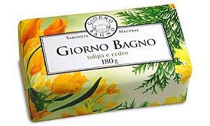 Sabonete em Barra Tulipa e Cedro 180g - Giorno Bagno
