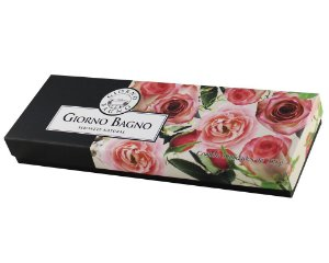 Kit Sabonetes Giorno - Bagno Rosa - 100g