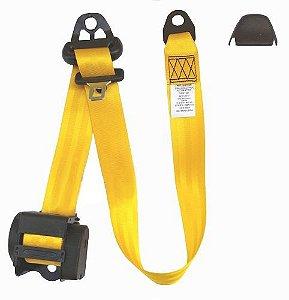 Cinto Automatico 3 Pontos Universal Amarelo (CR3P001.E)