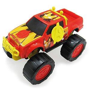 Carro Roda Livre Pickup Vingadores Homem de Ferro 28258