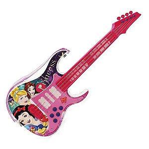 Guitarra Musical Com Luz Princesas  29303