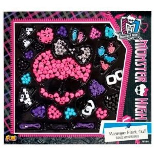 Conjunto de Miçangas Black Skull Monster High - 7614-6