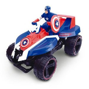 Quadriciclo Fricção Capitão América  29490