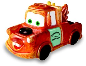 Fofomóvel Miniatura Luige e Tow Mater (629)