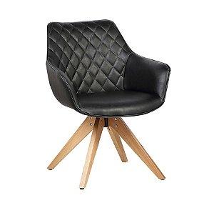 Cadeira Cintia Preta