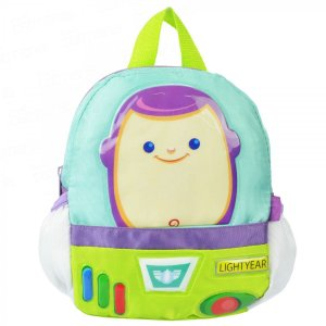 Mochila Infantil com Cinto Side By Side Buzz Lightyear 1834