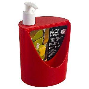 Dispenser para Pia Romeu & Julieta Vermelho Pimenta Coza 10837/0053