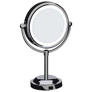 Espelho Aumento Dupla Face c/ Iluminação