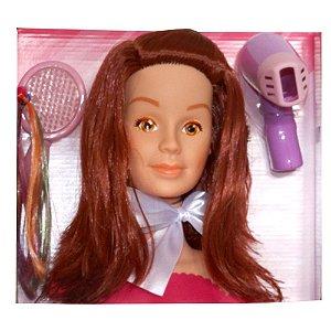Boneca Belle My Model Ruiva Olhos Laranja 897