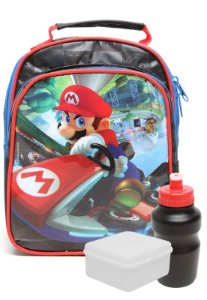Lancheira Soft com Bolso Nintendo Metalic Mario Kart (49071)