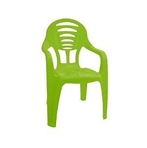 Cadeira Infantil com Braço Verde ref 301