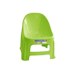 Poltrona Confort Infantil Verde ref 327 Paramount Plasticos
