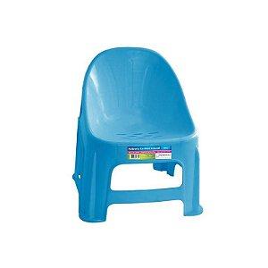 Poltrona Confort Infantil Azul ref 328 Paramount Plasticos