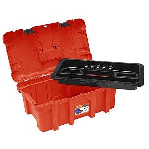 Maleta Retangular G - 50 X 30 X 22 Cm - Pro ref 518 - Vermelho