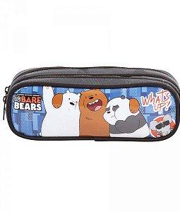 Estojo Soft 2 Div P DMW We Bare Bears 49135