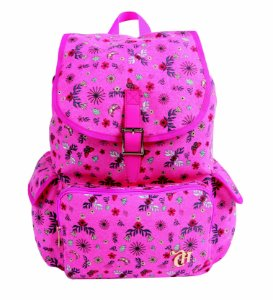 Mochila Liberty Capricho Pink com Bolso Frontal 11002