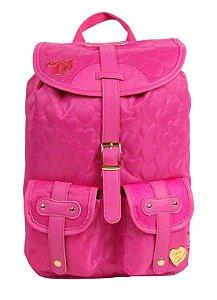 Mochila G Love Capricho Pink com 2 Bolsos 10988