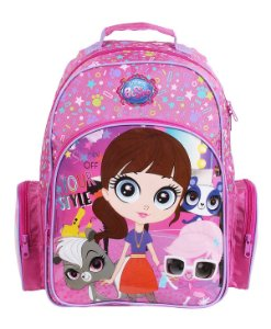Mochila Littlest Pet Shop Grande - 48757