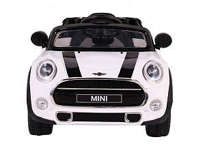 Carro Elétrico Mini Cooper R/C - Branco - 12V 926500
