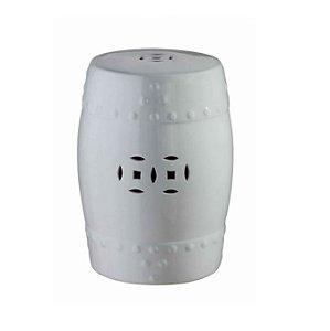 Mini Seat Garden Ceramica Branco