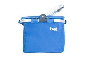 Bolsa Cooler Térmica 24 Latas c/ Alça de Alúminio Azul 52600