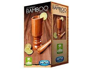 Kit Caipirinha 2 Peças Bamboo