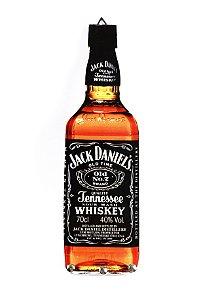 Porta Chaves Formato de Garrafa Whisky Jack Daniel's