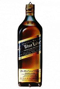 Porta Chaves Formato de Garrafa Blue Label Johnnie Walker
