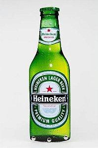Porta Chaves Formato de Garrafa Heineken Lager Beer