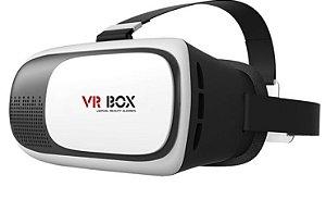 Óculos VR Box 2.0 Realidade Virtual 3D Android IOS