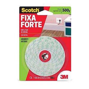 Fita Dupla Face Fixa Forte Espuma Interno 24mmx1,5m  CM0106-HM(D) - 3M