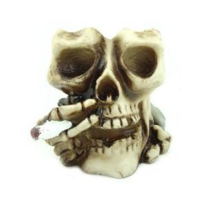 Crânio Cinzeiro Fumando