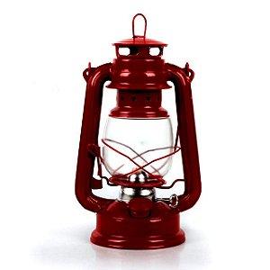 Lampião Lanterna Led - Luminária Estilo Antigo