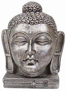 Cabeça Buda Hindu (G) Prata