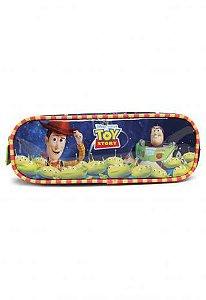 Estojo Soft 2 Divisórias Toy Story Foguete (37267)
