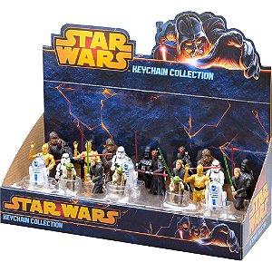 Display 24 Chaveiros Star Wars - Coleção  - BR349