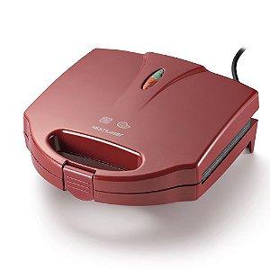 Sanduicheira e Grill 750w - Vermelha 127V Multilaser