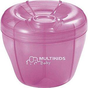 Dosador de Leite Em Pó Funny Meal Rosa Multikids Baby - BB058