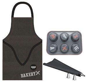 Kit para cupcake 6 peças Bakery  Tramontina - 29899/065