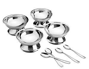 Kit para Sobremesa Aço Inox - Tramontina - 8 peças