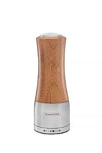 Moedor para Sal ou Pimenta (Inox e Bambú) - Tramontina