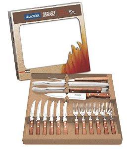 Kit para churrasco 15 peças Tramontina - 22399/028