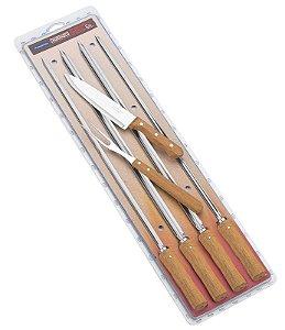 Kit para churrasco 6 peças Tramontina - 26499/032
