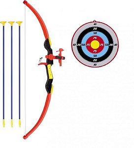 Conjunto Arco e Flecha Com Mira de LED 490500